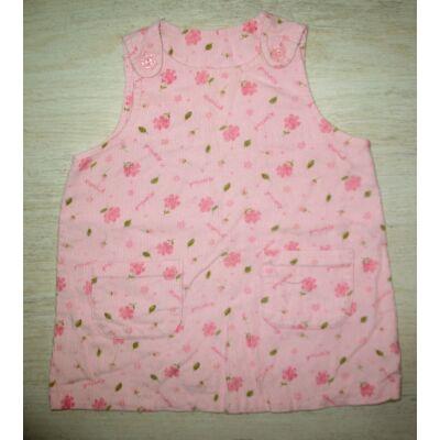Virágos kislány kord ruhácska