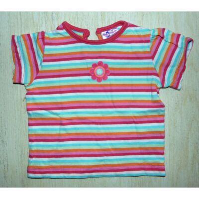 Csíkos kislány póló