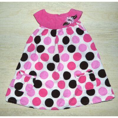 Pöttyös kislány ruha
