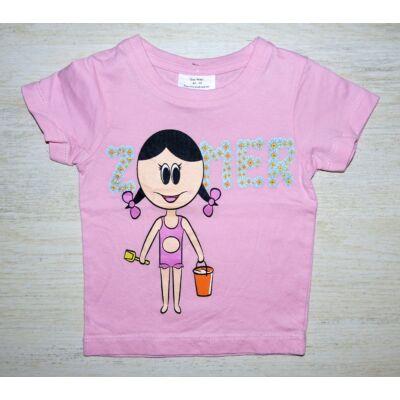 Kislányos póló